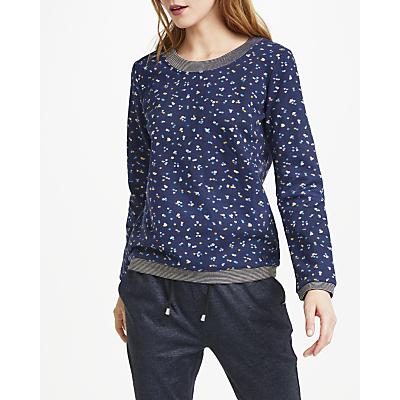 Numph Beeja Sweatshirt, Blue Print