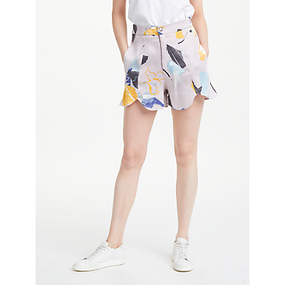 Numph Brona Shorts, Grey
