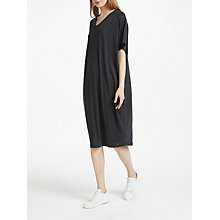 Buy Numph Genevre Jersey Dress, Caviar Online at johnlewis.com