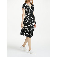 Buy Numph Azha Dress, Caviar Online at johnlewis.com