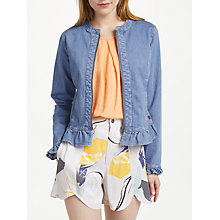 Buy Numph Bryanna Denim Jacket, Light Blue Online at johnlewis.com