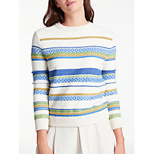 Buy Weekend MaxMara Arca Jumper, Ivory Online at johnlewis.com