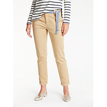 Buy Weekend MaxMara Audrey Slim Leg Chinos, Beige Online at johnlewis.com