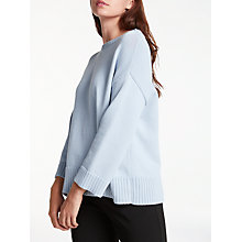 Buy Weekend MaxMara Diadema Side Tie Jumper, Ice Online at johnlewis.com