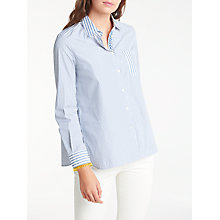 Buy Weekend MaxMara Gestro Stripe Shirt, Ultramarine Online at johnlewis.com