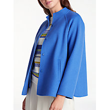 Buy Weekend MaxMara Foligno Jacket, Cornflower Blue Online at johnlewis.com