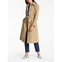 Buy Weekend MaxMara Emanuel Coat, Tobacco Online at johnlewis.com