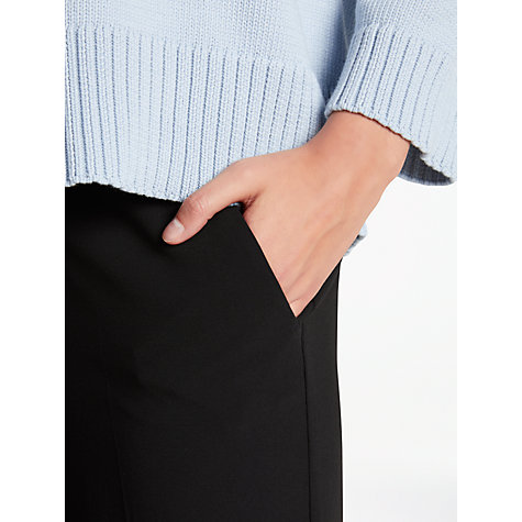Buy Weekend MaxMara Gerarda Flared Trousers, Black Online at johnlewis.com