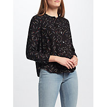 Buy Levi's Maya Printed Top, Falcon Obsidian Online at johnlewis.com