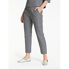 Buy Weekend MaxMara Ombrosa Trousers, Ultramarine Online at johnlewis.com