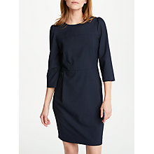 Buy Marella Laser Side Pocket Dress, Navy Online at johnlewis.com