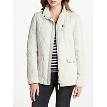 Buy Gerry Weber Quilted Jacket, Beige Online at johnlewis.com