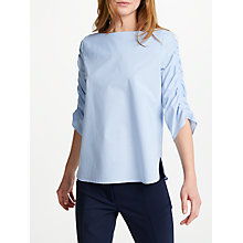 Buy Marella Naval Stripe Shirt, Blue Online at johnlewis.com
