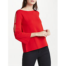 Buy Marella Isador Slit Sleeve Top Online at johnlewis.com