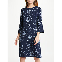 Buy Marella Mosto Floral Print Dress, Navy Online at johnlewis.com