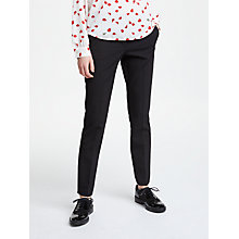Buy Marella Abituro Cigarette Trousers, Black Online at johnlewis.com