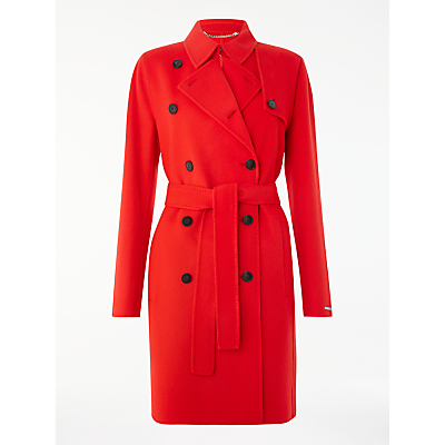 Marella Blasy Trench Coat, Red