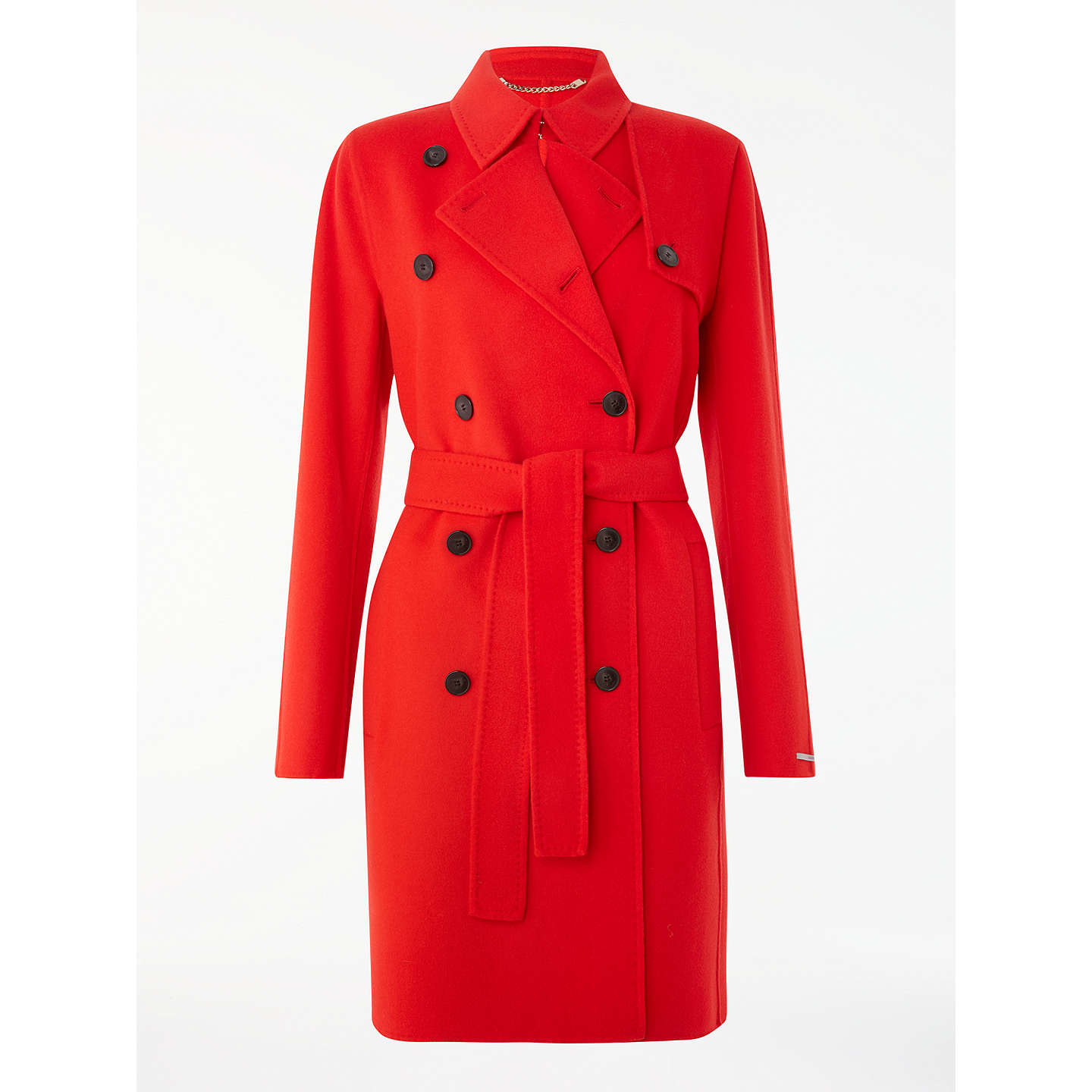 BuyMarella Blasy Trench Coat, Red, 8 Online at johnlewis.com