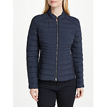 Buy Gerry Weber Quilted Ribbed Side Panel Jacket Online at johnlewis.com