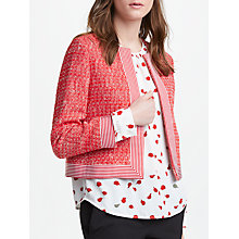 Buy Marella Tweed Jacket, Red Online at johnlewis.com