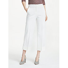 Buy Marella Battuta Trousers, White Online at johnlewis.com