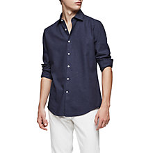 Buy Reiss Luca Nepp Detail Slim Fit Shirt Online at johnlewis.com