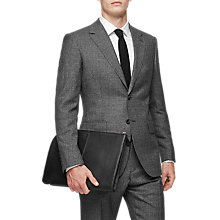 Buy Reiss Clemence Wool Modern Fit Suit, Charcoal Online at johnlewis.com