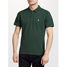 Buy Original Penguin Raised Rib Short Sleeve Polo Top Online at johnlewis.com