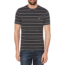 Buy Original Penguin Slub Yarn Stripe T-Shirt Online at johnlewis.com