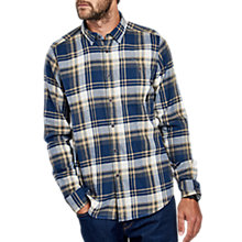 Buy Barbour International Handle Check Shirt, Dress Blue Online at johnlewis.com