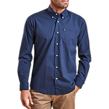 Buy Barbour Lifestyle Preston Long Sleeve Shirt, Navy Online at johnlewis.com