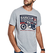 Buy Barbour International Flag Tour T-Shirt Online at johnlewis.com