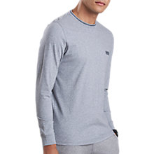 Buy Barbour International Apex Long Sleeve T-Shirt, Grey Marl Online at johnlewis.com