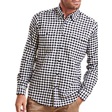 Buy Barbour Lifestyle Hillswick Gingham Shirt, Navy Online at johnlewis.com