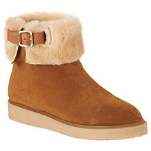 Buy L.K. Bennett Maci Shearling Ankle Boots Online at johnlewis.com