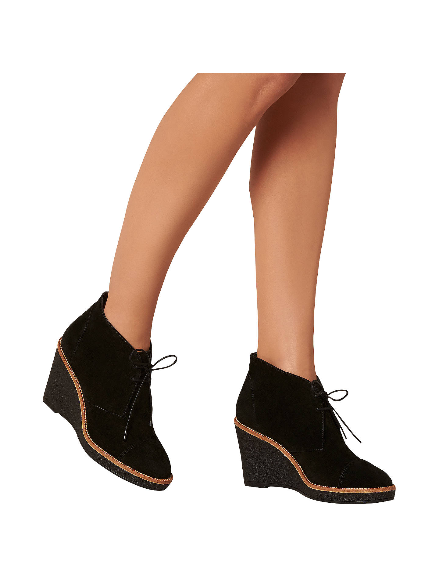 27f633a2b43 ... Buy L.K. Bennett Madi Wedge Heeled Ankle Boots