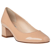 Buy L.K. Bennett Maisy Block Heeled Court Shoes Online at johnlewis.com