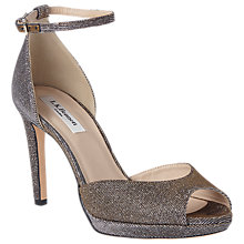 Buy L.K. Bennett Yasmin Stiletto Heeled Sandals, Bronze Online at johnlewis.com