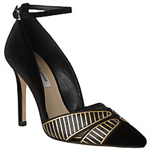 Buy L.K. Bennett Matilde Court Shoes, Black Online at johnlewis.com