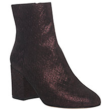 Buy L.K. Bennett Jourdan Block Heeled Ankle Boots Online at johnlewis.com