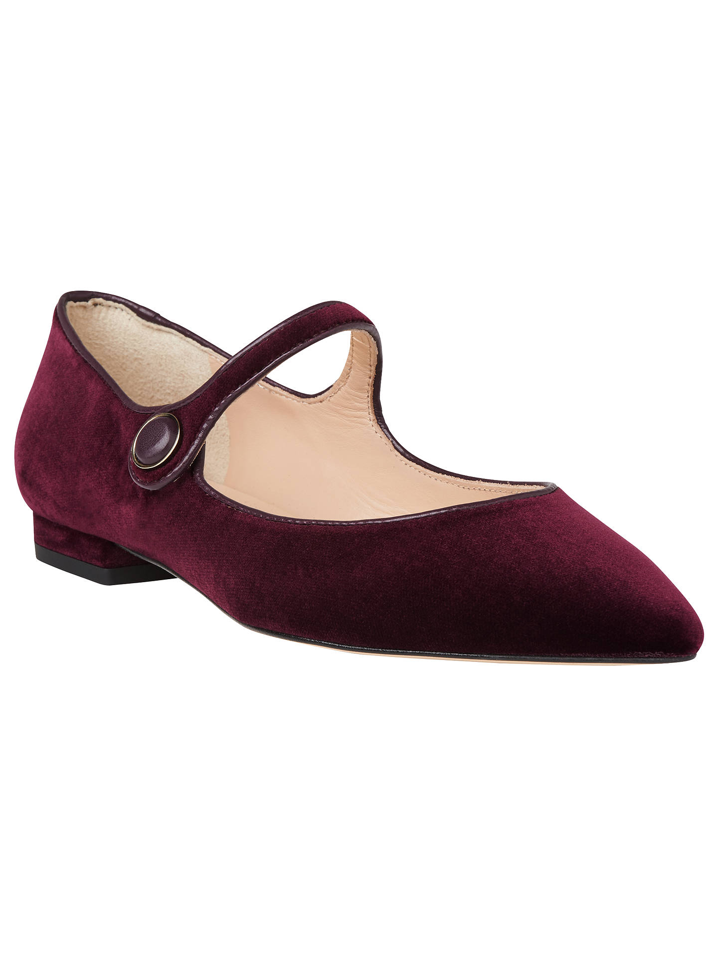313a75c2c Buy L.K. Bennett Mary Jane Pumps, Purple, 2 Online at johnlewis.com ...