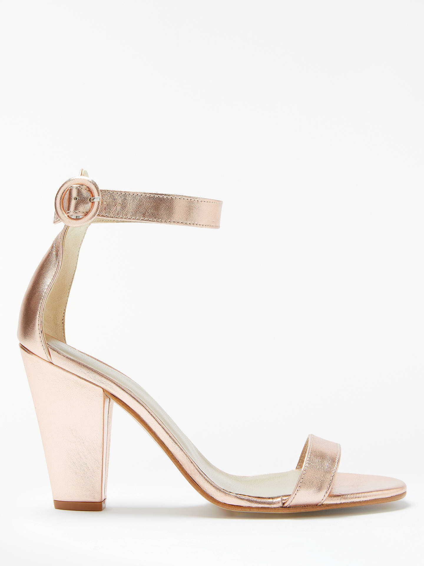 low priced pretty nice the cheapest John Lewis Dulcie Block Heel Sandals at John Lewis & Partners