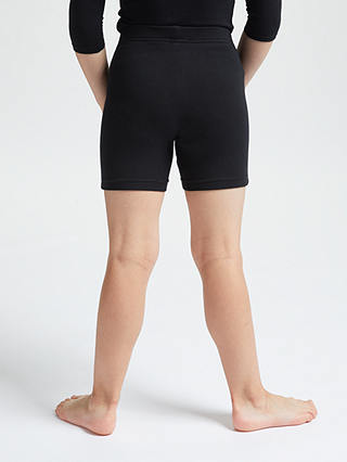 Buy John Lewis & Partners Unisex School Cycle Shorts, Black, 3-4 years Online at johnlewis.com