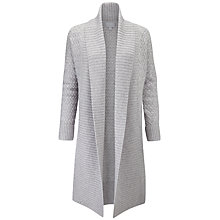 Buy Pure Collection Luxury Cashmere Cocoon Cardigan. Heather Dove Online at johnlewis.com