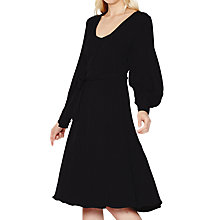 Buy Ghost Andie Dress, Black Online at johnlewis.com