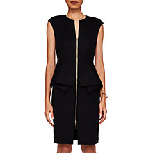 Buy Ted Baker Jamthun Structured Zip Detail Dress Online at johnlewis.com