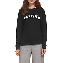 Buy Whistles Parisien Sweatshirt Online at johnlewis.com