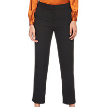 Buy Whistles Stitch Slim Leg Trousers, Black Online at johnlewis.com
