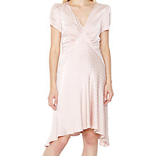 Buy Ghost Lillian Dress, Dusty Pink Online at johnlewis.com