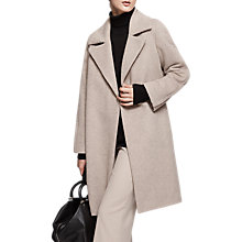 Buy Reiss Cabe Wool Blend Cable Coat Online at johnlewis.com